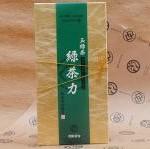 緑茶力(無農薬国産玉緑茶:リーフ)80g