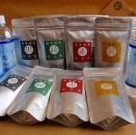 苦丁茶・紅美茶・蔵人茶・漆黒茶4種各3袋全120TP