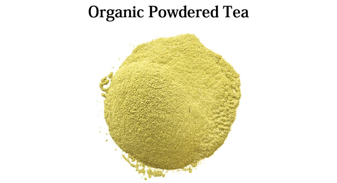 Organic Powdered Tea